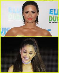 Demi Lovato Did Not Throw Shade at Ariana Grande