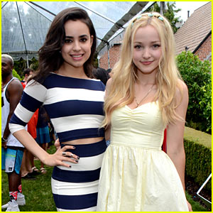 Dove Cameron & Sofia Carson Get Us Excited for 'Descendants' at JJ Summer Bash Presented by SweeTARTS Chewy Sours