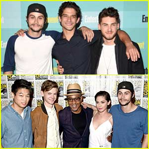 Dylan O'Brien & Tyler Posey Make It A Guys Night At EW's Comic-Con Party