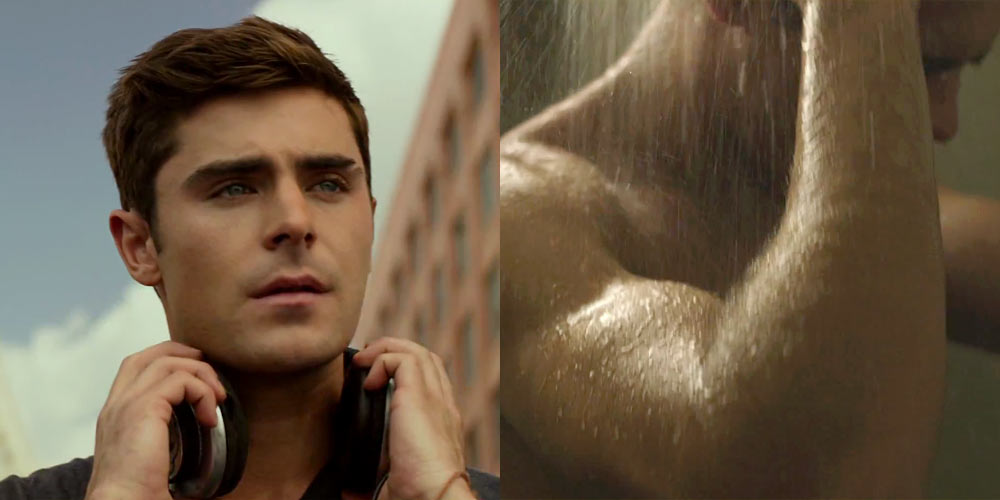 Zac efron shower naked