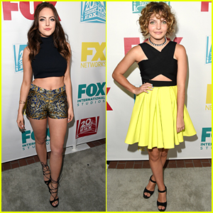 Elizabeth Gillies & Gotham's Camren Bicondova Hit Up Fox's Comic-Con Party