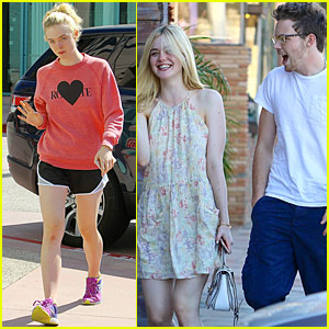 Elle Fanning Has An Adorable New Beau Named Zalman Band