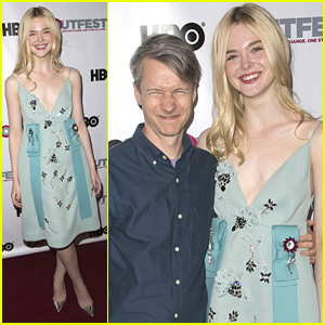 Elle Fanning Reunites With Director John Cameron Mitchell At Outfest 2015