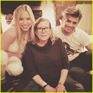 Garrett Clayton & Morgan Larson Support Michelle Manning at 'Jenny's Wedding' Premiere