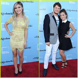 Brett Dier Supports Girlfriend Haley Lu Richardson At 'Young Kieslowski' Premiere