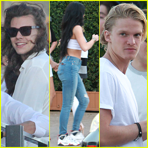 Harry Styles & Cody Simpson Party It Up for the 4th!