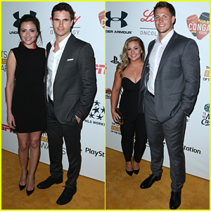 Italia Ricci & Shawn Johnson Bring Their #1 Guys To ESPN's Humanitarian of The Year Awards