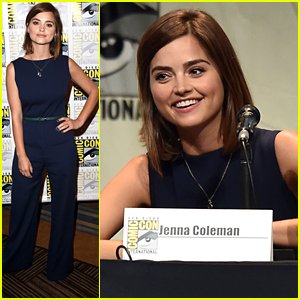 Jenna Coleman Brings 'Doctor Who's New Trailer To Comic-Con 2015 - Watch Now!