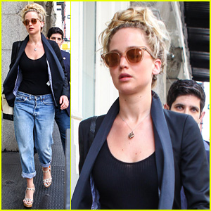 Jennifer Lawrence Spent Fourth of July With Chris Martin!