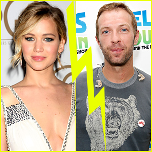 Jennifer Lawrence And Chris Martin Kissing