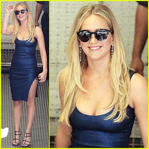 Jennifer Lawrence Talks About Taylor Swift: 'She's Awesome!'