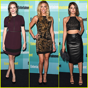 Katie Cassidy & Danielle Panabaker Glam Up EW's Comic-Con 2015 Party