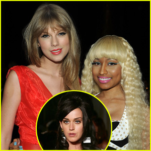 Katy Perry Speaks Out About Taylor Swift & Nick Minaj's VMA Feud