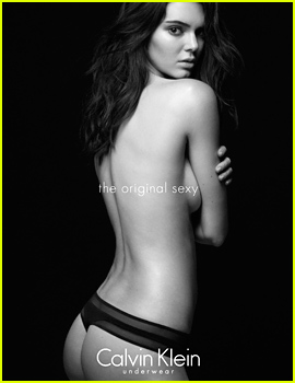 Kendall Jenner Displays All Her Assets for Calvin Klein!