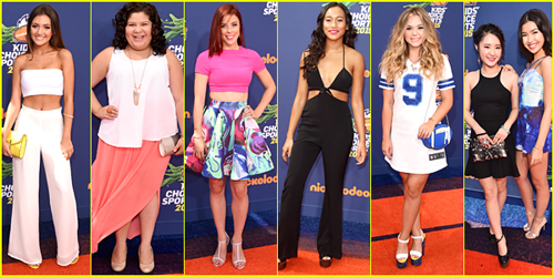 Kids Choice Sports 2015 - Pick Your Best Dressed Here!