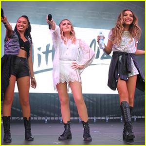 Little Mix Play Thorpe Park After 'Get Weird' Album Reveal