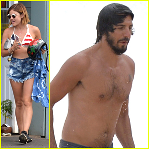 Lucy Hale & Anthony Kalabretta Explore Hawaii Before Hitting The Beach Again