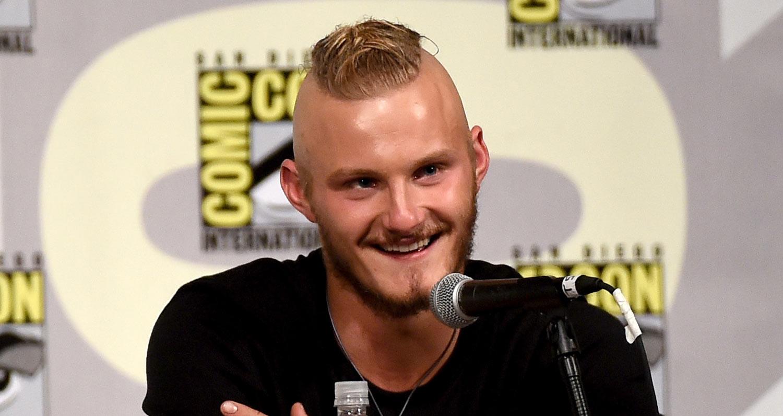 Alexander Ludwig Debuts Vikings Season 4 Trailer At Comic Con