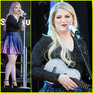 Meghan Trainor Is The New Face of Skechers & Performs 'Like I'm Gonna Lose You' On 'Kimmel'!