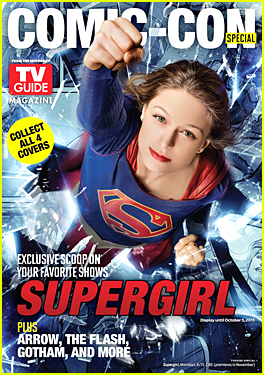 Melissa Benoist Becomes 'Supergirl' on 'TV Guide' Cover