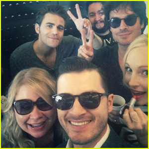 The Vampire Diaries' Michael Malarkey Took JJJ to Comic-Con 2015!