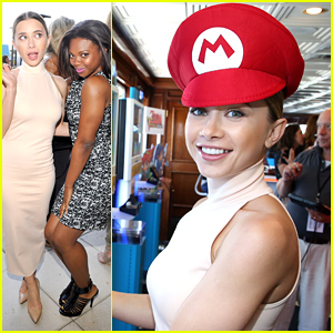 Olesya Rulin Shows Off Her 'Powers' At Comic-Con 2015