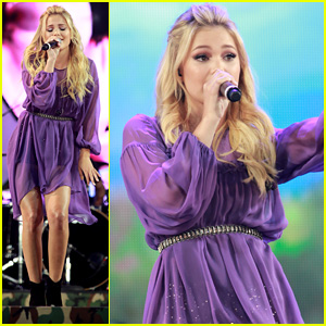 Olivia Holt Calls Opening for Journey an 'Absolute Dream'