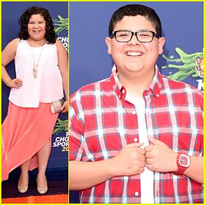 Raini Rodriguez & Brother Rico Hit Nickelodeon's Kids Choice Sports 2015