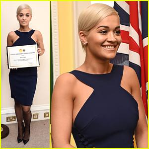Rita Ora Named Kosovo's Honorary Ambassador