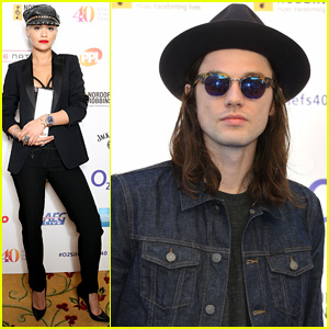 Rita Ora & James Bay Win Big at O2 Silver Clef Awards 2015
