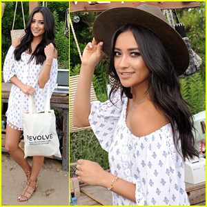 Shay Mitchell Heads To The Hamptons For Revolve Clothing's Pop-Up Party