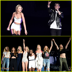 Taylor Swift & Nick Jonas Perform 'Jealous' At Her '1989' Concert - Watch Now!