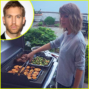 Taylor Swift Is a Grill Master, According to Boyfriend Calvin Harris!