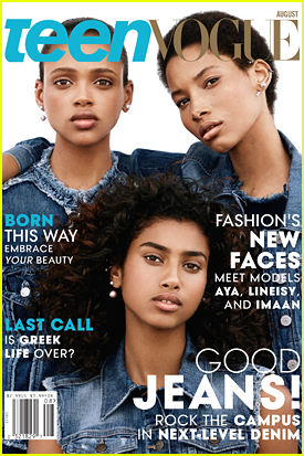 Imaan Hammam, Aya Jones & Lineisy Montero Cover 'Teen Vogue' July/August 2015 - See The Stunning Cover