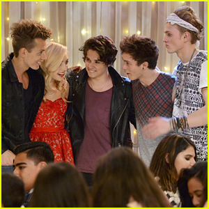 The Vamps Are Playing The School Dance at Emma's School on 'Jessie' - Sneak Peek Pics!