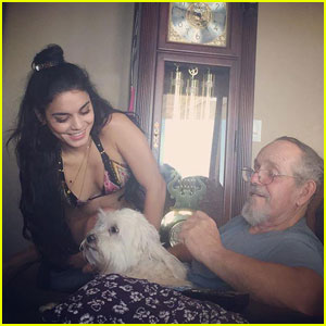 Vanessa Hudgens Asks Fans to Pray for Her Father