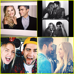 Veronica Dunne & Max Ehrich Are That Relationship You Wish You Were In - See 20 Of Their Cutest Instagrams!