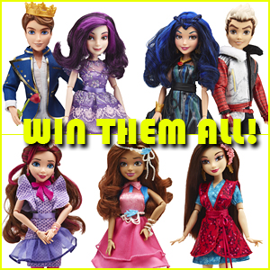 Love Disney's Descendants Mal, Evie, Carlos & Ben Dolls? WIN ONE HERE!