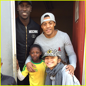 Zendaya Dances The Hustle With Nico & Vinz In South Africa For UNAIDs - Watch Here!