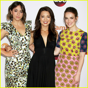 Chloe Bennet & Elizabeth Henstidge Get Glam for ABC's TCA Party!