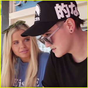 Alli Simpson Shares 'Roll 'Em Up' Behind-The-Scenes Vid With JJJ - Watch Now! (Exclusive)