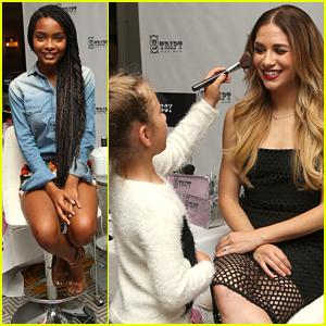Allison Holker Lets Daughter Weslie Put Makeup On Her - See The Cute Pics!