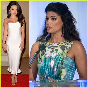 Andrea Navedo & Jane The Virgin WIN at Imagen Awards 2015