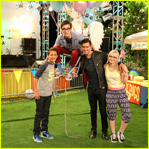 Andy Grammer Takes Us BTS of 'Liv & Maddie' - Watch Now! (Exclusive)