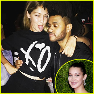 Bella Hadid Calls Boyfriend The Weeknd & Sister Gigi Her 'Hearts'