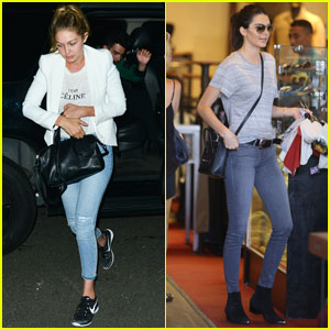 Gigi Hadid & Kendall Jenner Are Sorta Related! Find Out How!