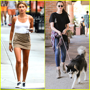 Hailey & Ireland Baldwin Spotted Out Separately on Sunday!