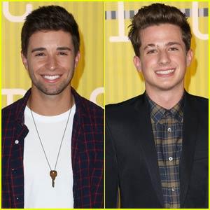 Jake Miller & Charlie Puth Bring the Hotness Factor to MTV VMAs 2015