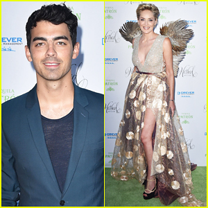 Joe Jonas Gets Into An Enchanted Garden at Hotbed Gala!
