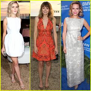 Kiernan Shipka & Aimee Teegarden Celebrate Summer At Oceana's SeaChange Party